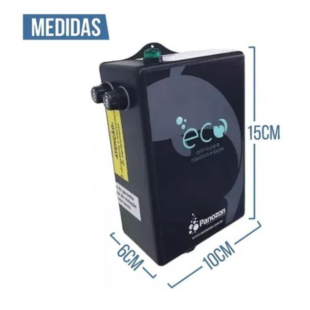 Gerador de Ozônio Panozon Ecco - Aquários e Lagos - Ecco 4000  (de 2.000 até 4.000 litros)