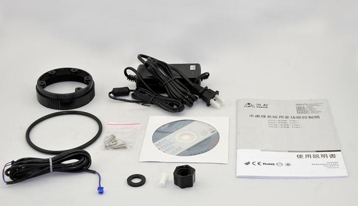 VÁLVULA AUTOMÁTICA Abrandador  POR VAZÃO RUNXIN N74A3 (63610):  até 10 m3/h ou 10.000 litros/h