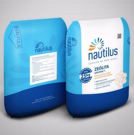 Zeolita Nautilus 25kg Para Filtro De Piscina - Celpool