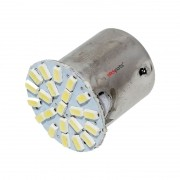 Lâmpada Freio BAY15D P21/5w 22 Led Smd 3014 Branco
