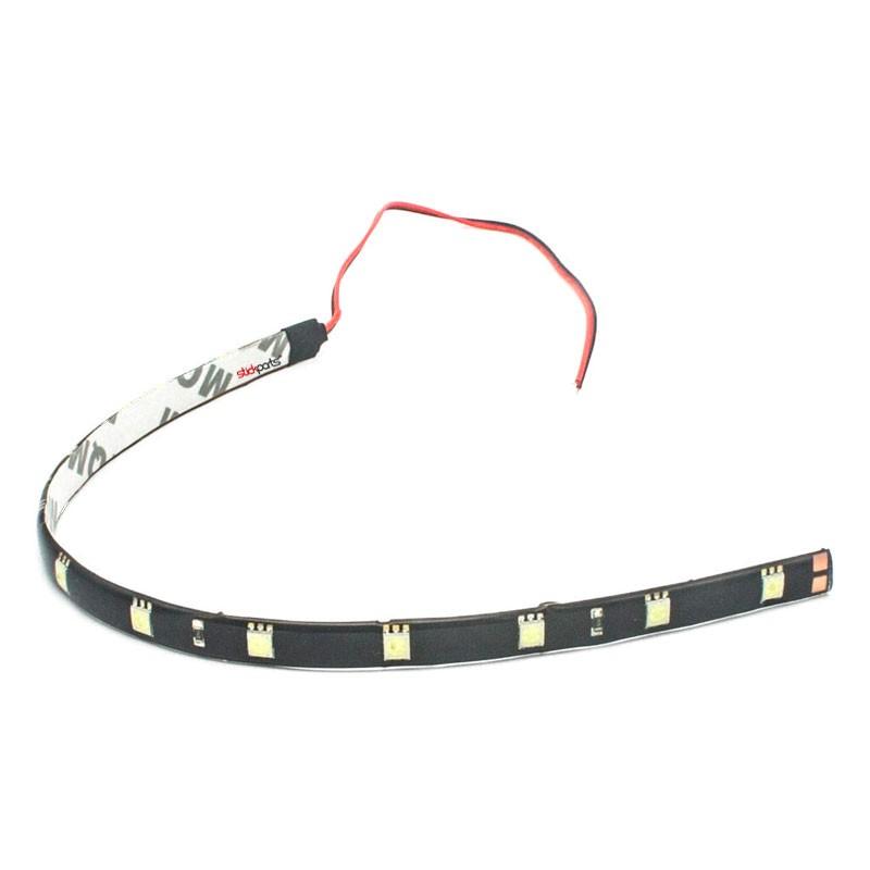 Fita Adesiva 12 Led Smd 5050 Flexível 30cm - Branco