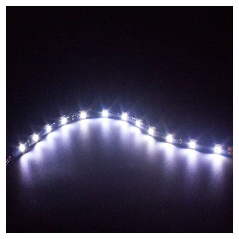 Fita Adesiva 12 Led Smd 5050 Flexível 30cm Branco