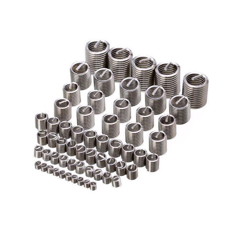 Jogo de Insertos Rosca Helicoil M3 x 0,5 101 Pcs