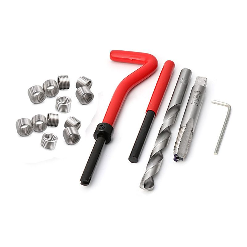 Kit Reparo Rosca Postiça Helicoil M10 x 1,0
