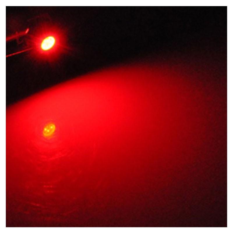 Lâmpada Led B8.5 Smd 5050 - Vermelho