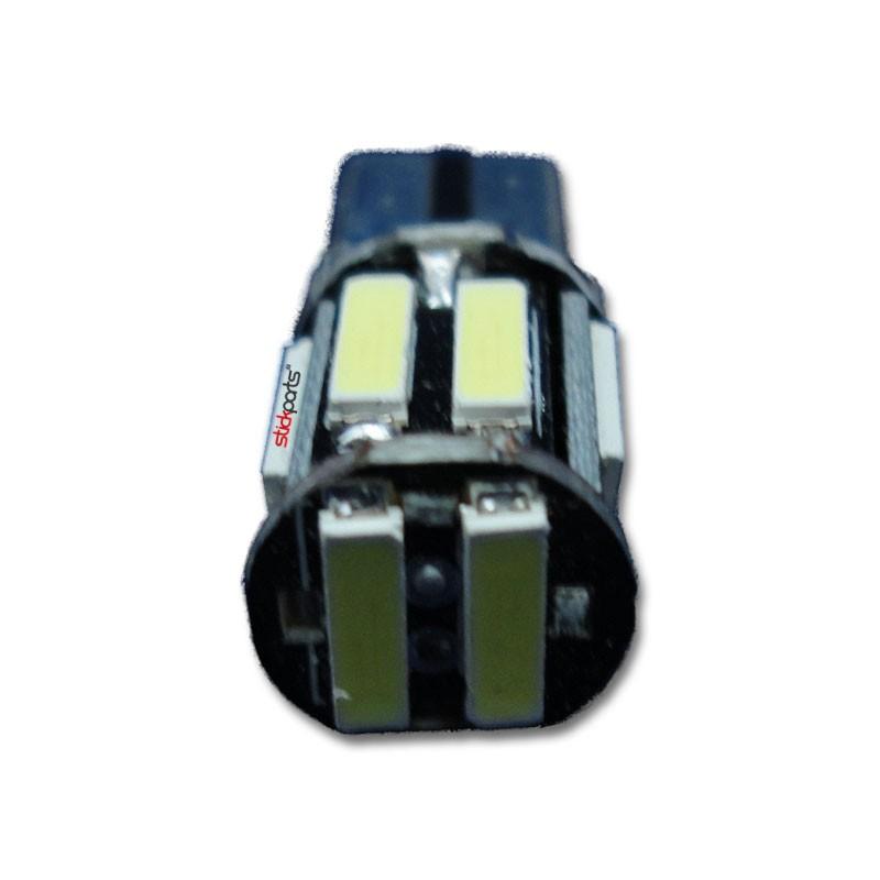 Lâmpada Pingo T10 W5w 10 Leds Smd 7020 Branco Canbus