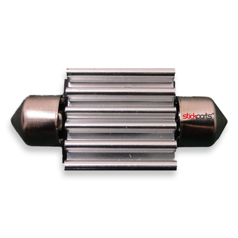 Lâmpada Torpedo 36mm 6 Leds Smd 5050 Canbus