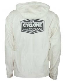 Jaqueta Veludo Cyclone Galão Logo Branca
