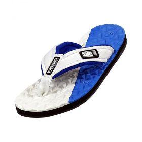 Sandália Cyclone Deck Diamond Bicolor Branco/Azul