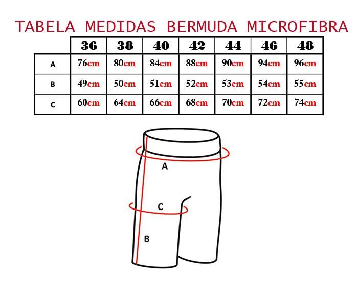 Bermuda Cyclone Microfibra Eco Style