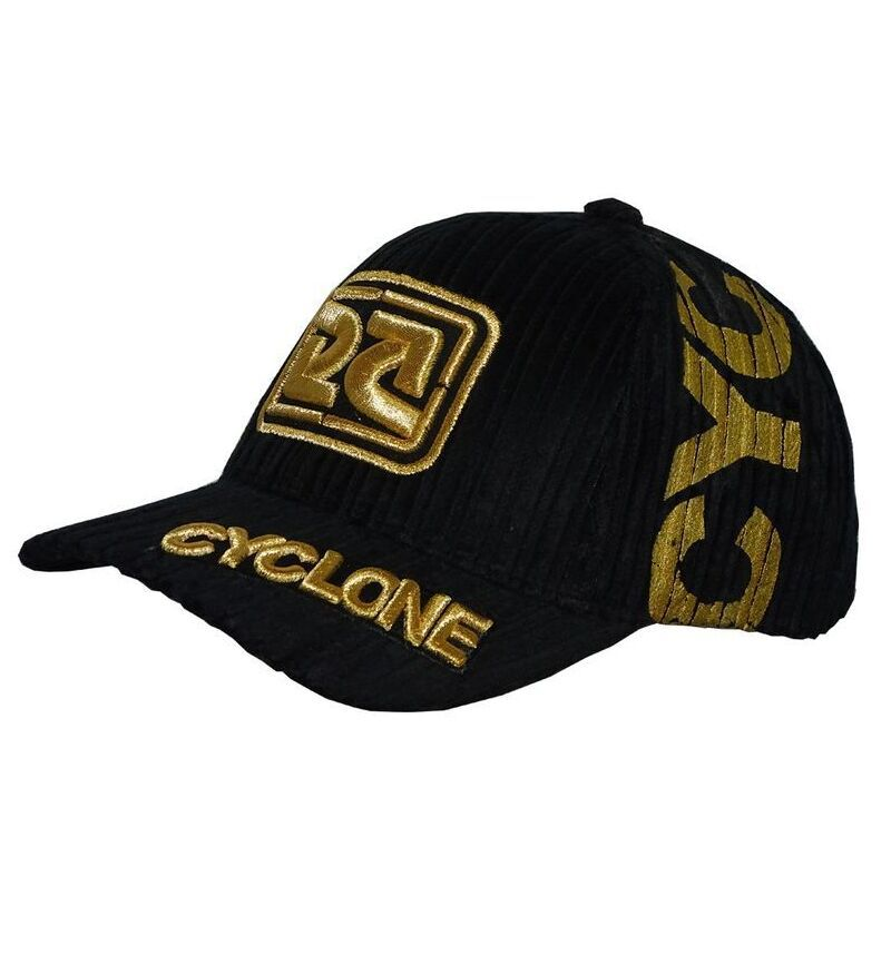 Boné Cyclone Veludo Future Gold