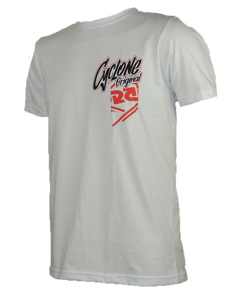 Camisa Cyclone Assinatura Branca