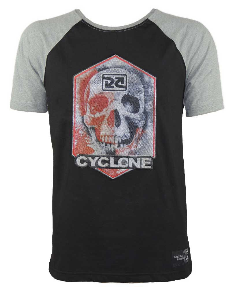 Camisa Cyclone Raglan Skull