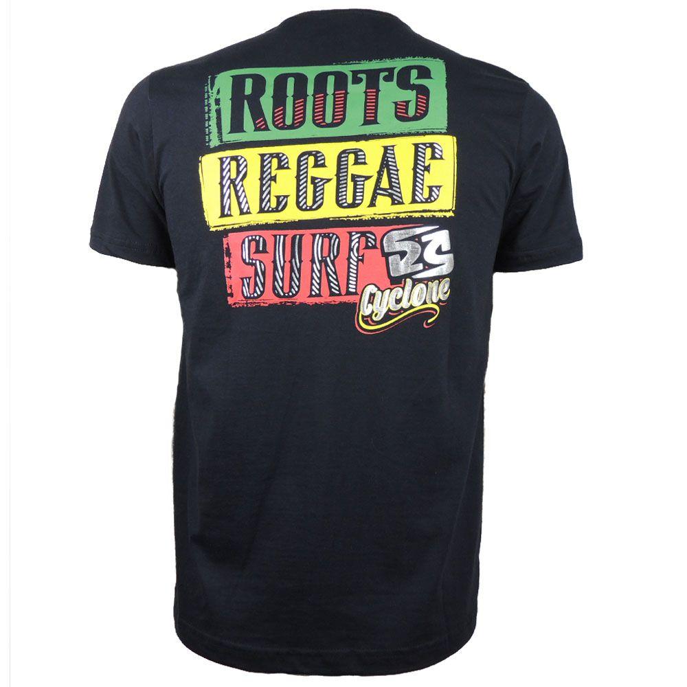 Camisa Cyclone Reggae Rasta Metal