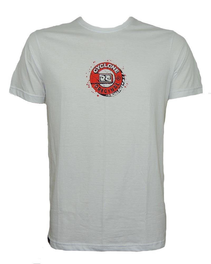 Camisa Cyclone Stone Relax Branca