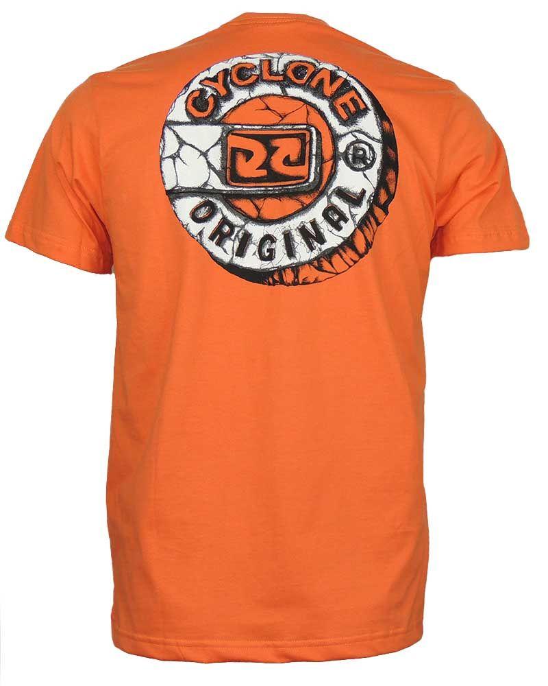 Camisa Cyclone Stone Relax Laranja