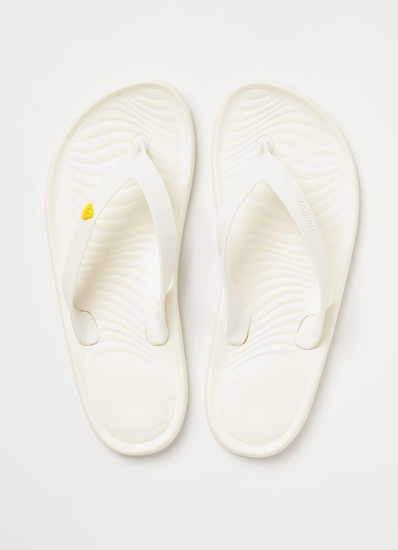 Chinelo Redley Monocromo Branco