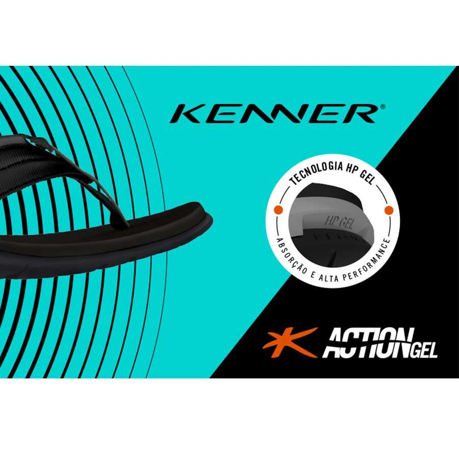 Kenner Action Ultra Gel - Cinza
