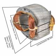 Bobina (estator) para esmerilhadeira makita Ga7020 / MGA700 / GA9020  7 Polegadas