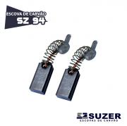 Escova de Carvão Furadeira Bosch Hobby SZ 94 - 6640/ 7081/ GBM 13RE (10 PARES)