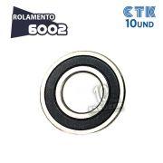 KIT 10 UNID - Rolamento 6002 C3 - CTK
