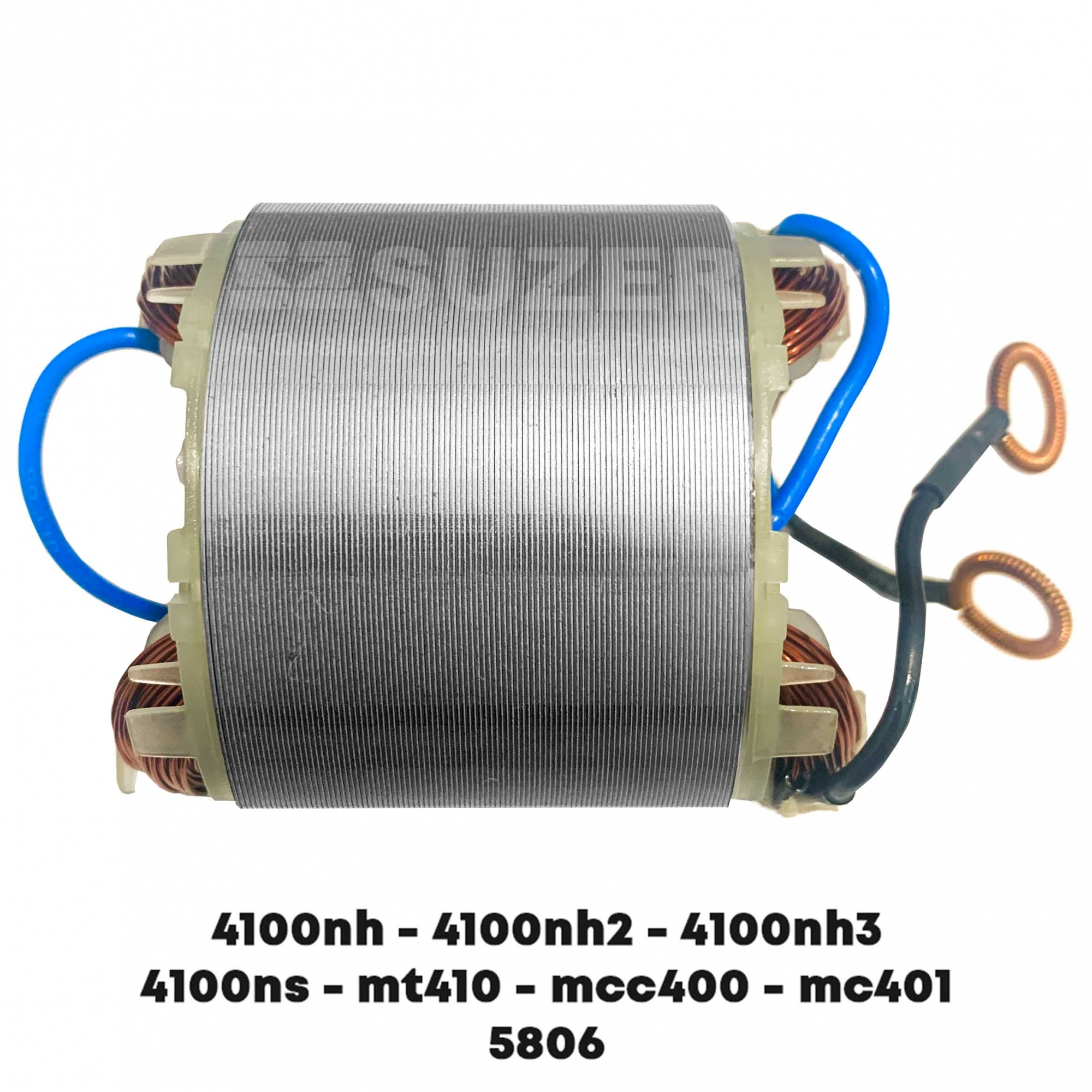Bobina (Estator) para serra mármore makita 4100NH3 / MT410 / MCC400 / MCC401 Dongcheng