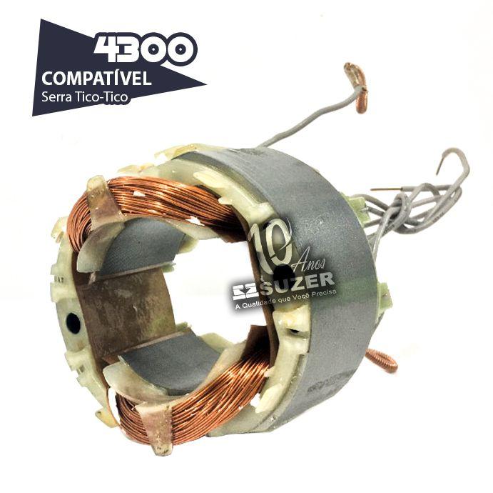 Bobina (Estator) para serra tico-tico makita 4300 BA/BV