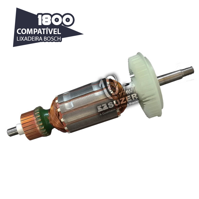 Induzido para Lixadeira/ Esmerilhadeira Bosch  1800/1820 GWS 7-115