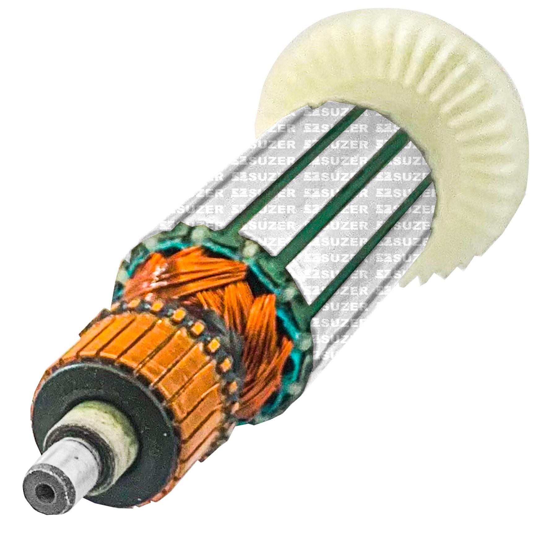 Induzido (rotor) para esmerilhadeira makita Mga450 /452 4 1/2 Polegadas 152mm