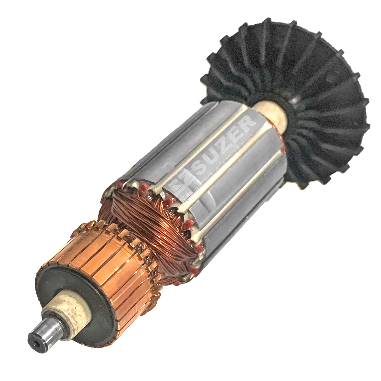 Induzido (rotor) para furadeira bosch 1121.1- Gbm 23 185mm