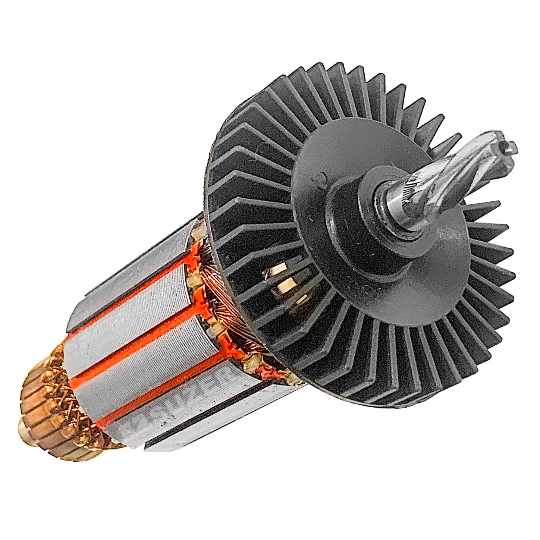 Induzido (rotor) para furadeira bosch 1218.0 /1218.5 Gsb 16-Re 148mm