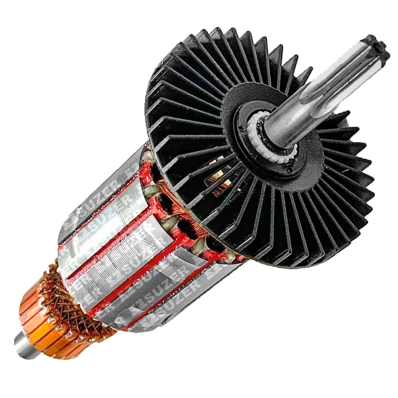 Induzido (rotor) para furadeira bosch 3388.5- Gsb 13-Re