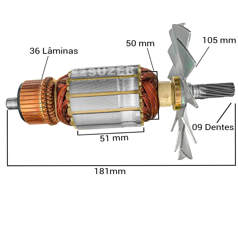 Induzido para serra circular makita 5900B Dongcheng