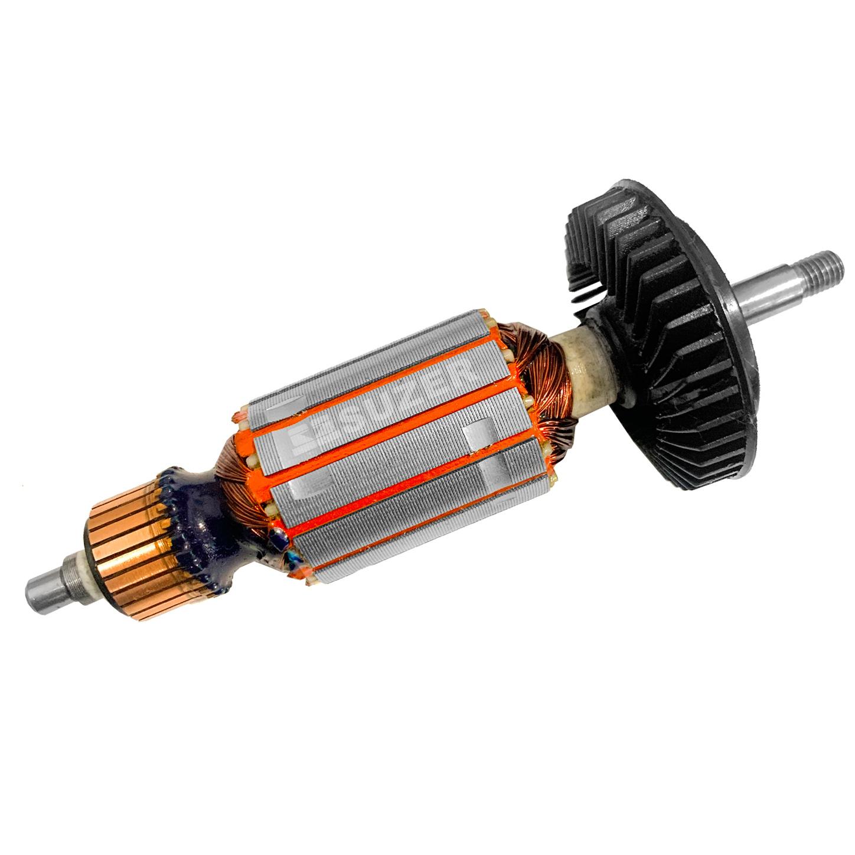 """Induzido (Rotor) para esmerilhadeira bosch 1347 Gws 7-115 4 1/2"""" 153mm"""