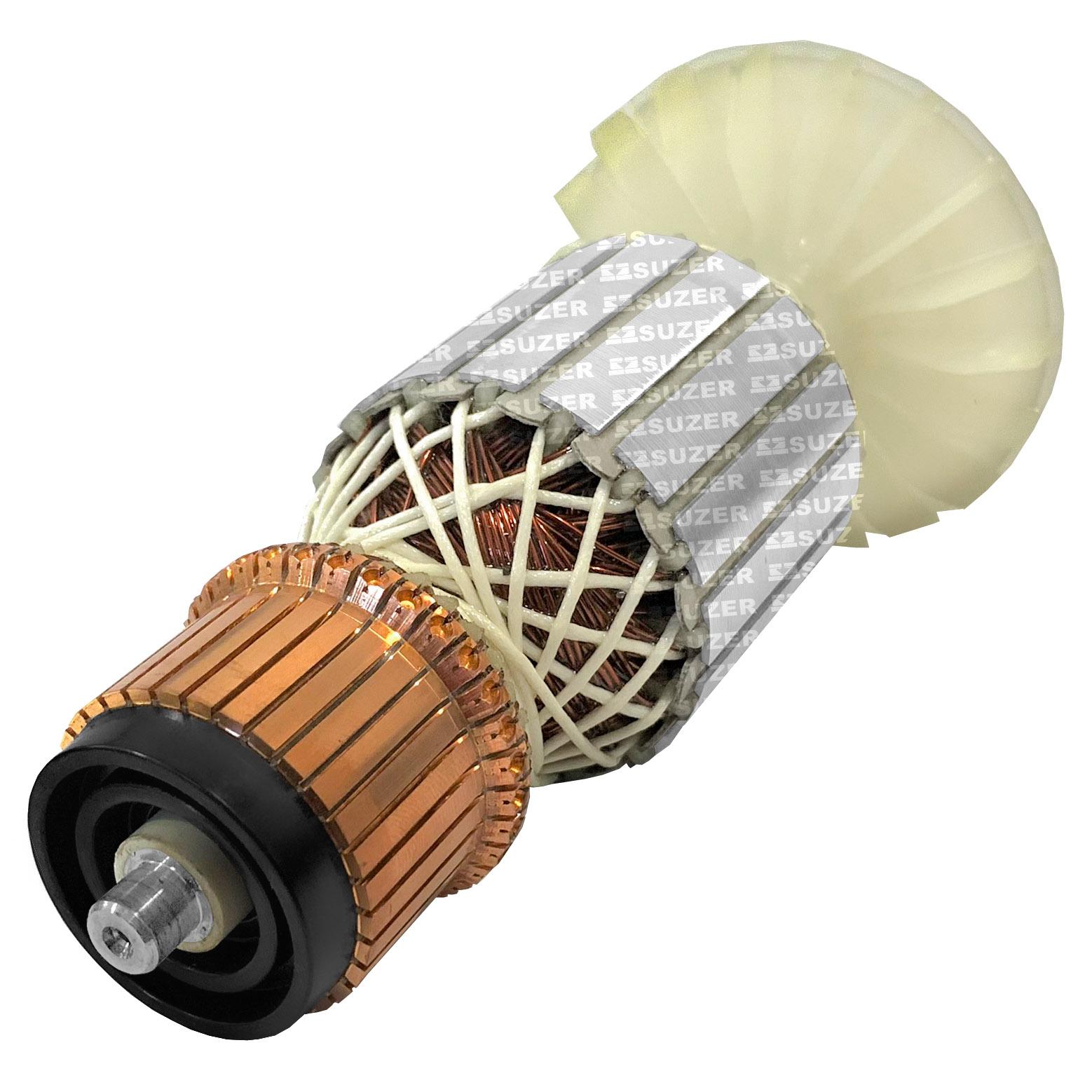 Induzido (Rotor) para esmerilhadeira bosch 1351 Gws 18-180 205mm