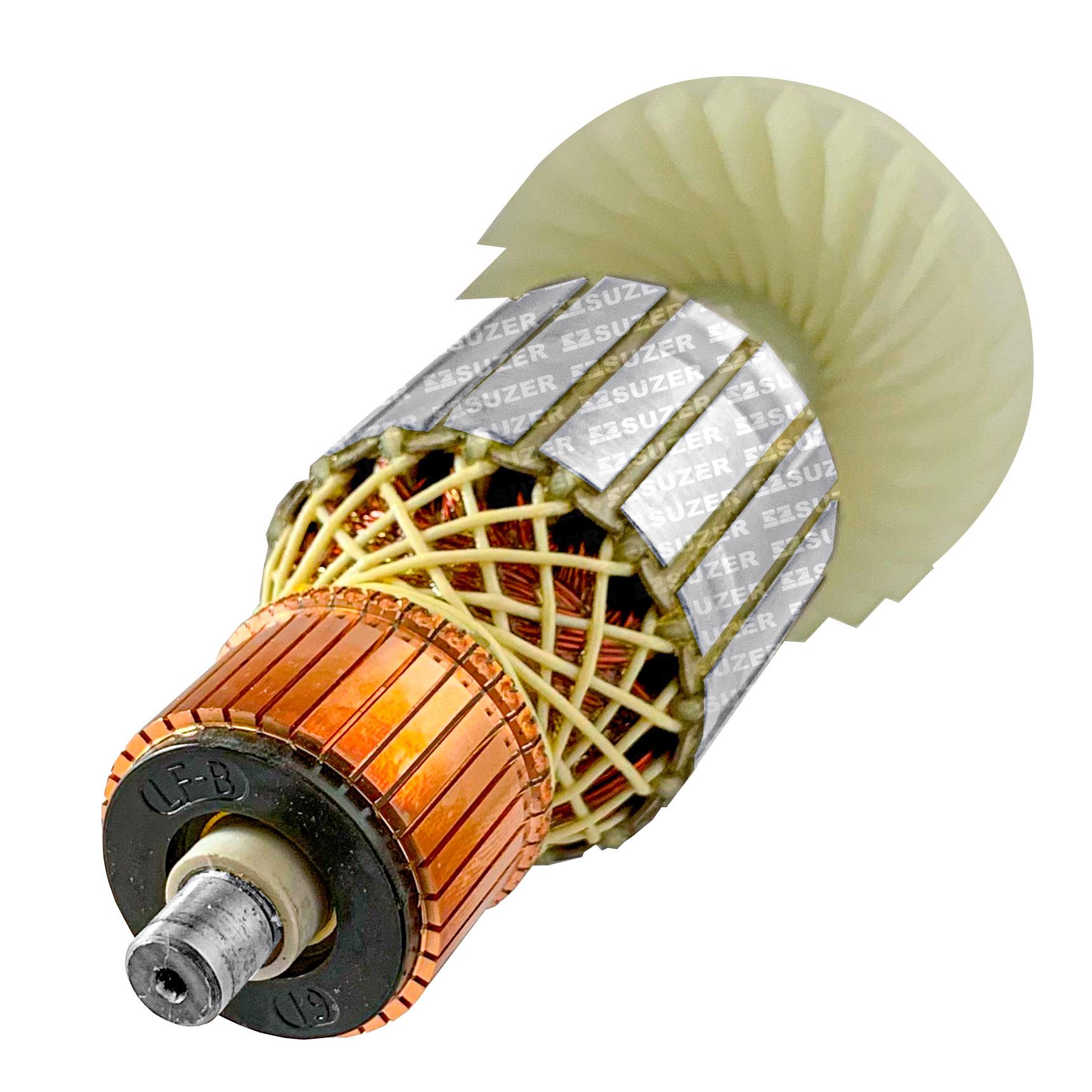 Induzido (Rotor) para esmerilhadeira makita 9067 192mm
