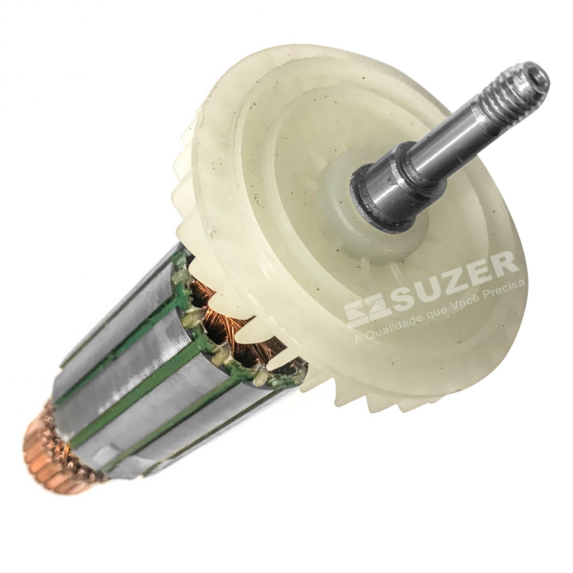 "Induzido (Rotor) para esmerilhadeira makita 9557 4 1/2"" 165mm"