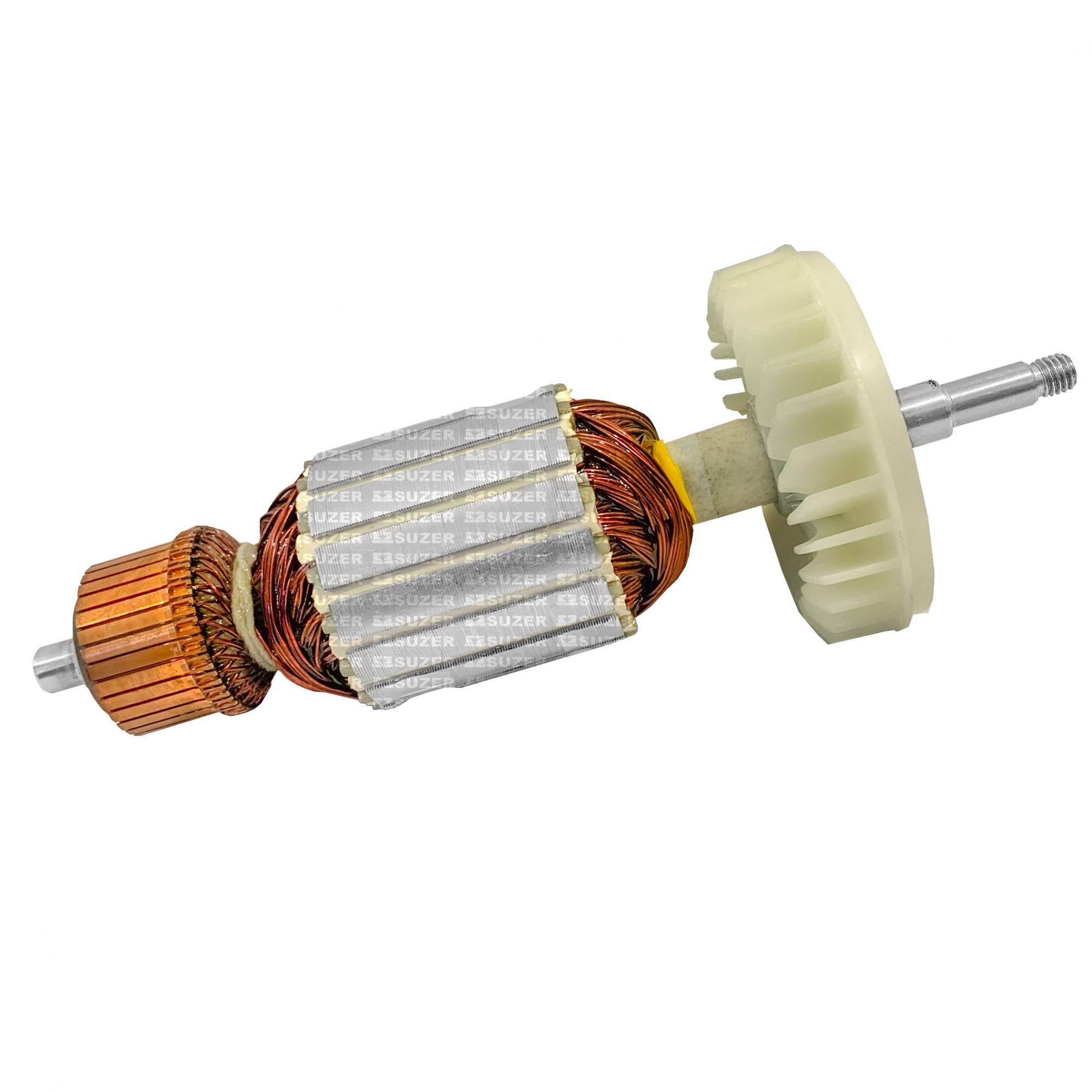 "Induzido (Rotor) para esmerilhadeira makita GA7030 / GA9030 7"" 217mm"