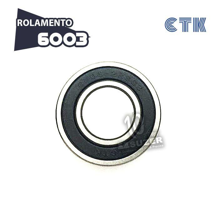 Rolamento 6003 C3 - CTK