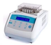 BANHO SECO COM AQUECIMENTO E RESFRIAMENTO, SEM AGITAÇÃO, -10°C A 100°C PARA MICROPLACAS DE PCR, MICROTUBOS DE 0,2ML A 2,0ML E TUBOS DE ENSAIO DE 5 ML A 50 ML. MODELO BIODTC100