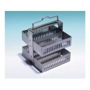 Berço (Rack) em Aço Inoxidável para Coloração, Capacidade 30 Laminas – Modelo: GR-30