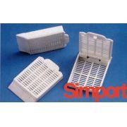 Cassete Histológico para Amostras de Tecidos, Cor Azul - Modelo: M-490-6