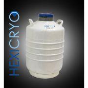Container para Nitrogênio Líquido, 35 litros, Até 06 Canecas - Modelo: HCN-35