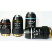 Objetivas Acromáticas para microscópio
