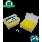 Ponteira Universal, 1-200µL, Com Filtro, Livre DNase/RNase, Natural, Estéril, Rack com 96 ponteiras