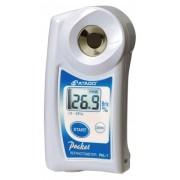 REFRATÔMETRO PORTÁTIL BRIX 0-53% COM COMPENSAÇÃO AUTOMÁTICA DE TEMPERATURA 10°-60°C