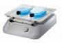Agitador Analógico com Movimento Tridimensional (3d) com Ângulo De Inclinação 7° Capacidade de Carga 3kg Disponível com Plataformas para Fixação de Frascos (Garras) ou para Placas (Elásticos)