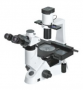 Microscópio invertido biológico trinocular campo claro, contraste de fase, óptica planacromática infinita (ios). Modelo IV5100BIO-IC