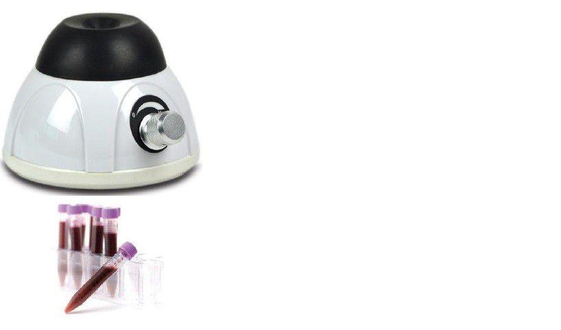 Agitador Vortex Velocidade Regulável até 4.000 RPM Funciona no Modo Pulse (Pressão), Bivolt - MODELO BIOMIX-28+