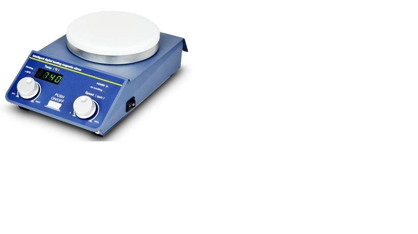 AGITADORES MAGNÉTICOS DIGITAL COM E SEM AQUECIMENTO (340°C) CAPACIDADE AGITAÇÃO 1 E 20 LITROS - SERIE BIOSP